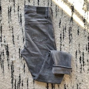 Lucky Brand Gray Candiani Denim Skinny Ankle Jeans